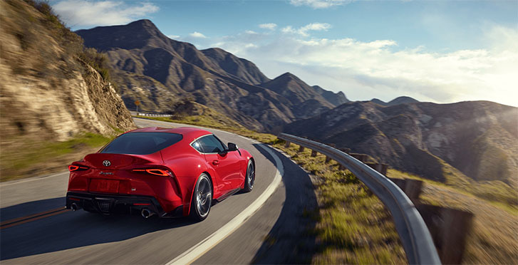2021 Toyota GR Supra performance