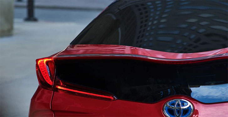 2021 Toyota Prius Prime appearance