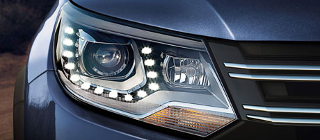 Bi-Xenon Headlights with LED Daytime Running Lights