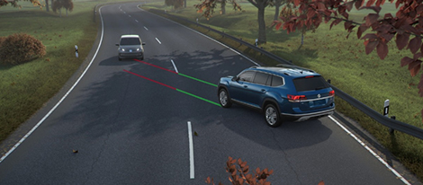 Automatic Post-Collision Braking System