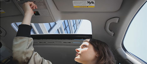 Power Tilting/Sliding Sunroof
