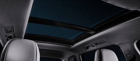 Panoramic Sunroof With Ambient Lighting
