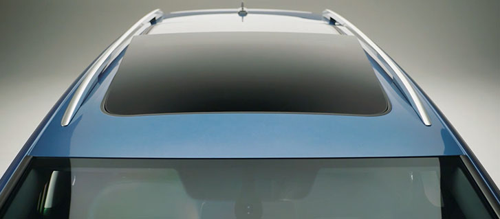Power Tilting/Sliding Panoramic Sunroof
