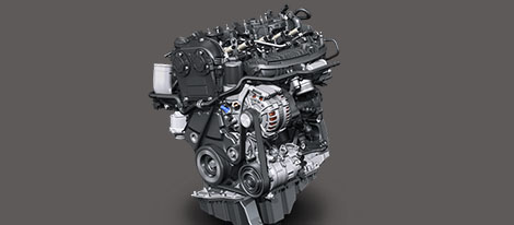 184-horsepower turbocharged engine