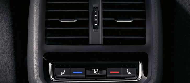 3-zone Climatronic® automatic climate control