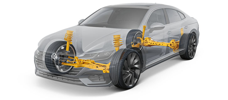 DCC® Adaptive Chassis Control