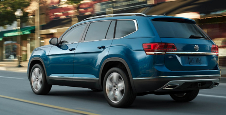 2019 Volkswagen Atlas performance