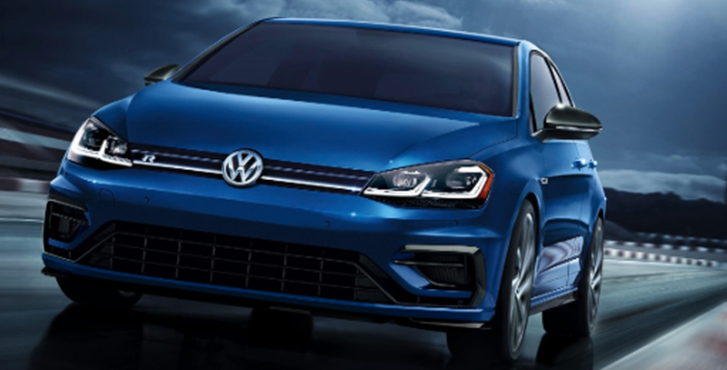 2019 Volkswagen Golf R performance